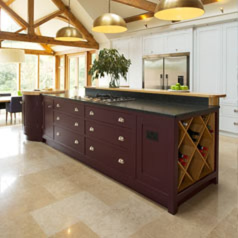 Guild Anderson Make Bespoke Islands For Country Kitchens Near Shaftesbury