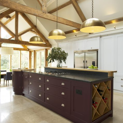 Classic Country Kitchen Design: designed and built in Wiltshire, installed on Exmoor