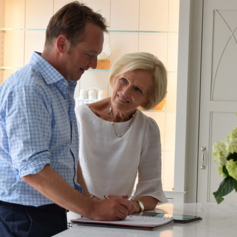 At home with Mary Berry